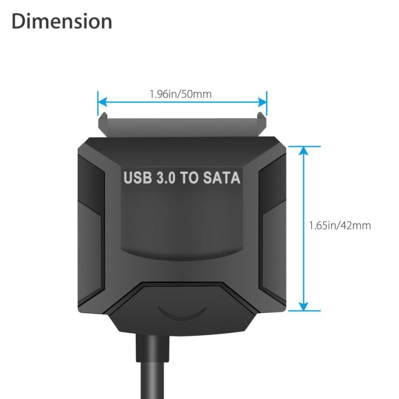 SATA To USB 3.0 2.5/3.5 HDD SSD Hard Drive Converter Cable Line Adapter Hot Sale Computer Cables Connectors