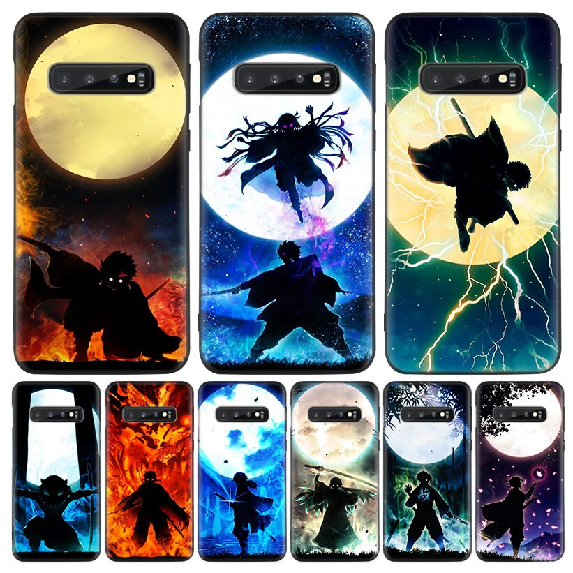 Bonita funda de teléfono Demon Slayer Kimetsu No Yaiba para Samsung Galaxy A50S A70 A10 A20E A30 A40 A51 A71 A10S A20S M30S Coque
