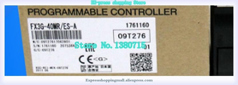 جديد الأصلي FX3G-60MR/ES-A FX3G-60MT/ES-A FX3G-40MR/ES-A FX3G-40MT/ES-A FX3G-24MR/ES-A FX3G-24MT/ES-A في مربع في الأسهم