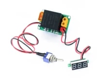 hydraulic model power switch module power module with start switch with voltmeter