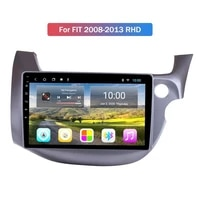 car radio player 6g128g car gps nagavition for honda fitjazz rhd 2008 2013 android 10 0 car multimedia player with wifi 4g ahd