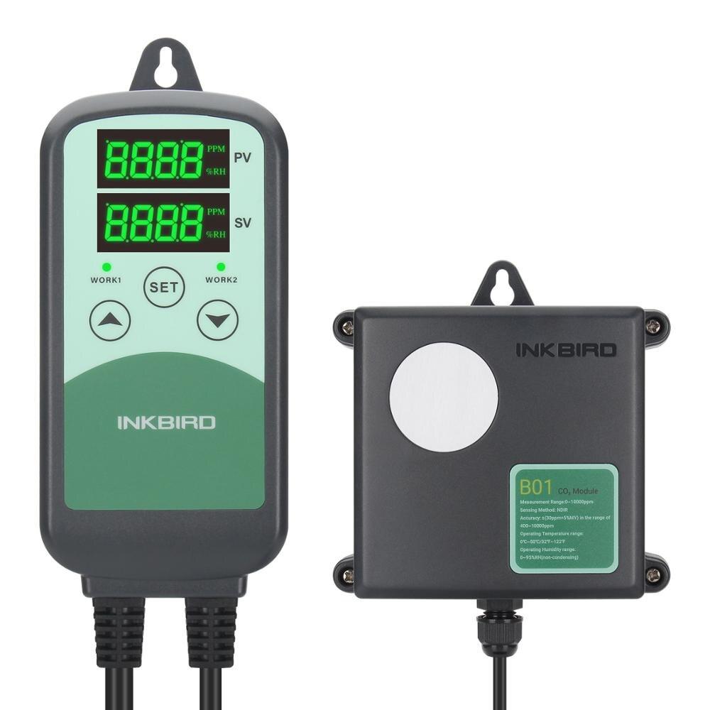 INKBIRD ICC-500T الرقمية CO2 تحكم للبرمجة CO2 تحكم ومراقبة للتهوية الصناعات الزراعية الماشية