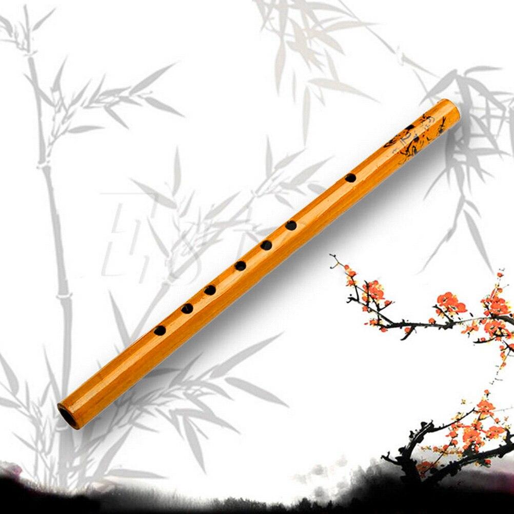 Flöte Klarinette Bambus Holz Chinesischen Traditionellen 6 Löcher Student Bambus Vertikale Flöte Geschenke Für Kind Musical Instrument