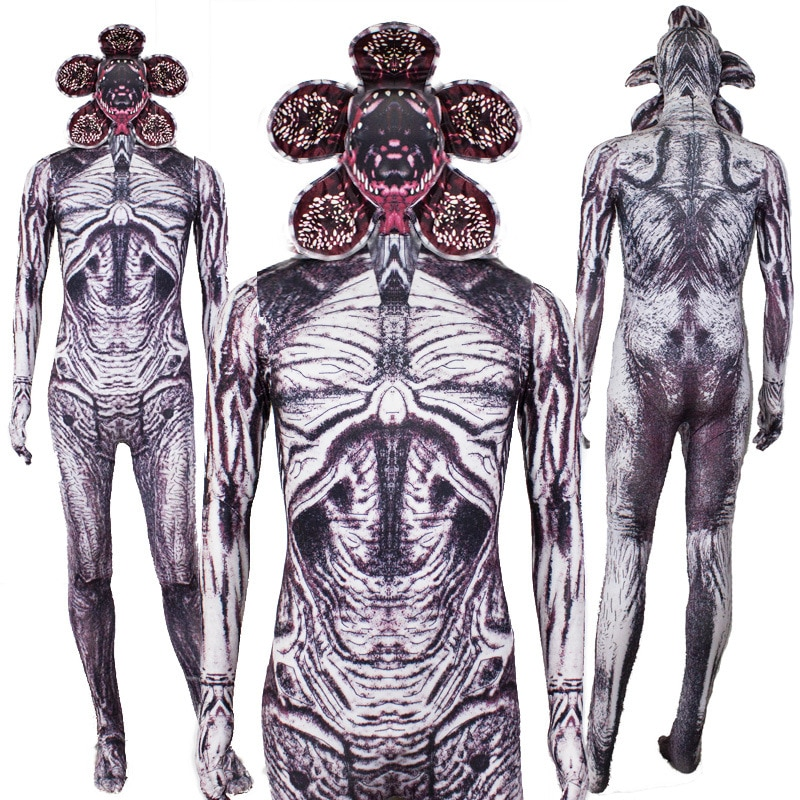 Disfraz de Halloween MONSTER Strange tights Halloween demon king cosplay disfraz demogorgon actuación disfraz