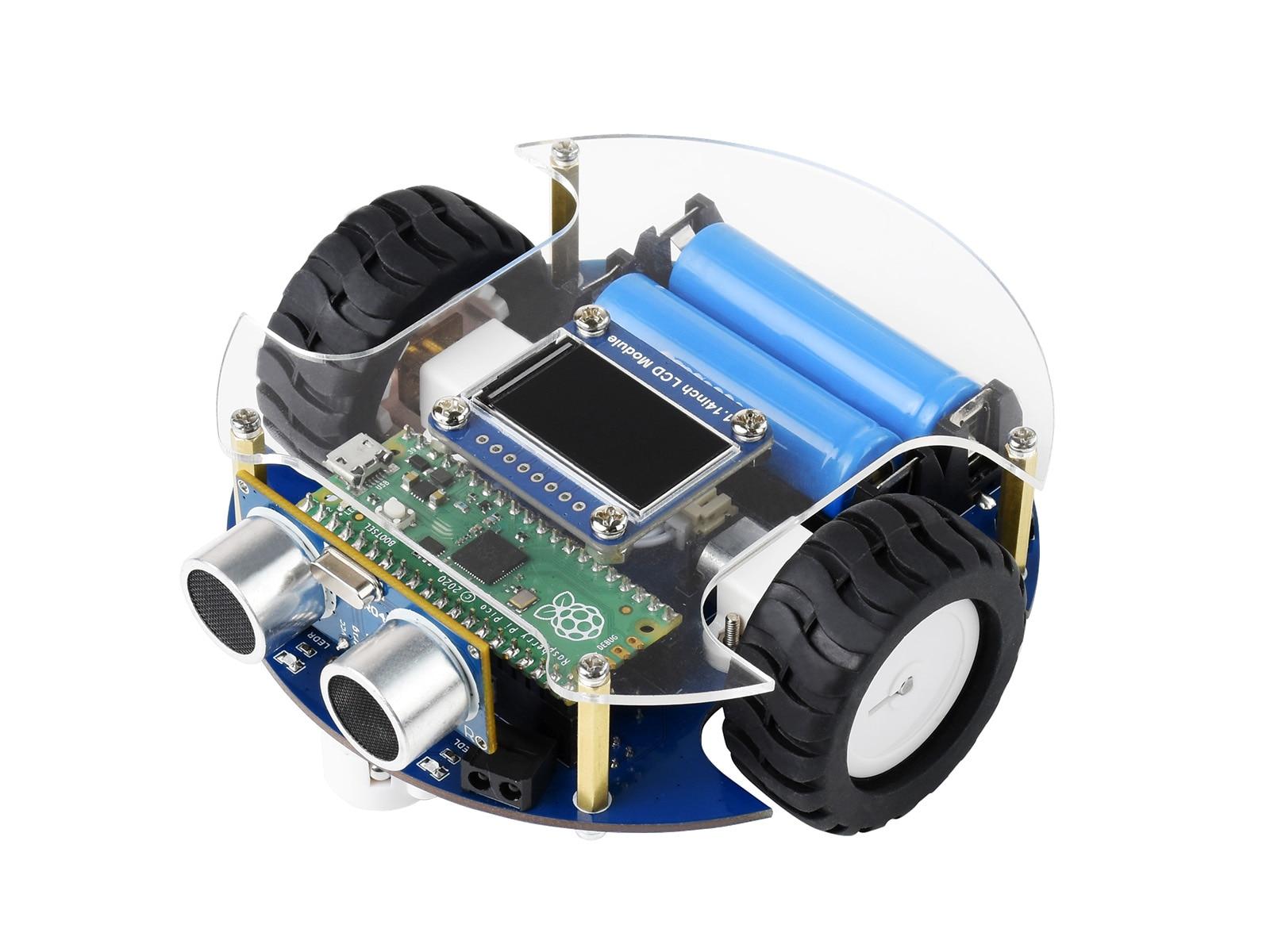 بيكو الروبوت الذكية ، استنادا إلى التوت بي بيكو ، القيادة الذاتية ، التحكم عن بعد ، تتبع السيارة الذكية/تجنب عقبة الخ
