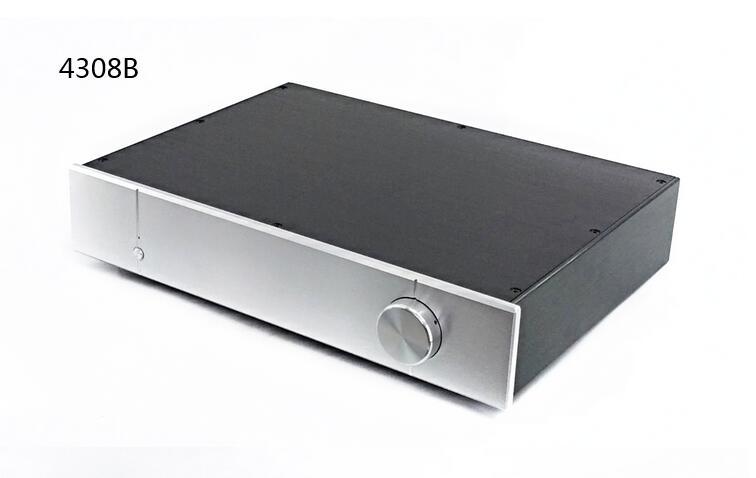 BZ4308B/C جميع الألومنيوم هيكل مكبر للصوت/DAC حالة/قبل مكبر للصوت الشاسيه/AMP ضميمة/DIY مربع
