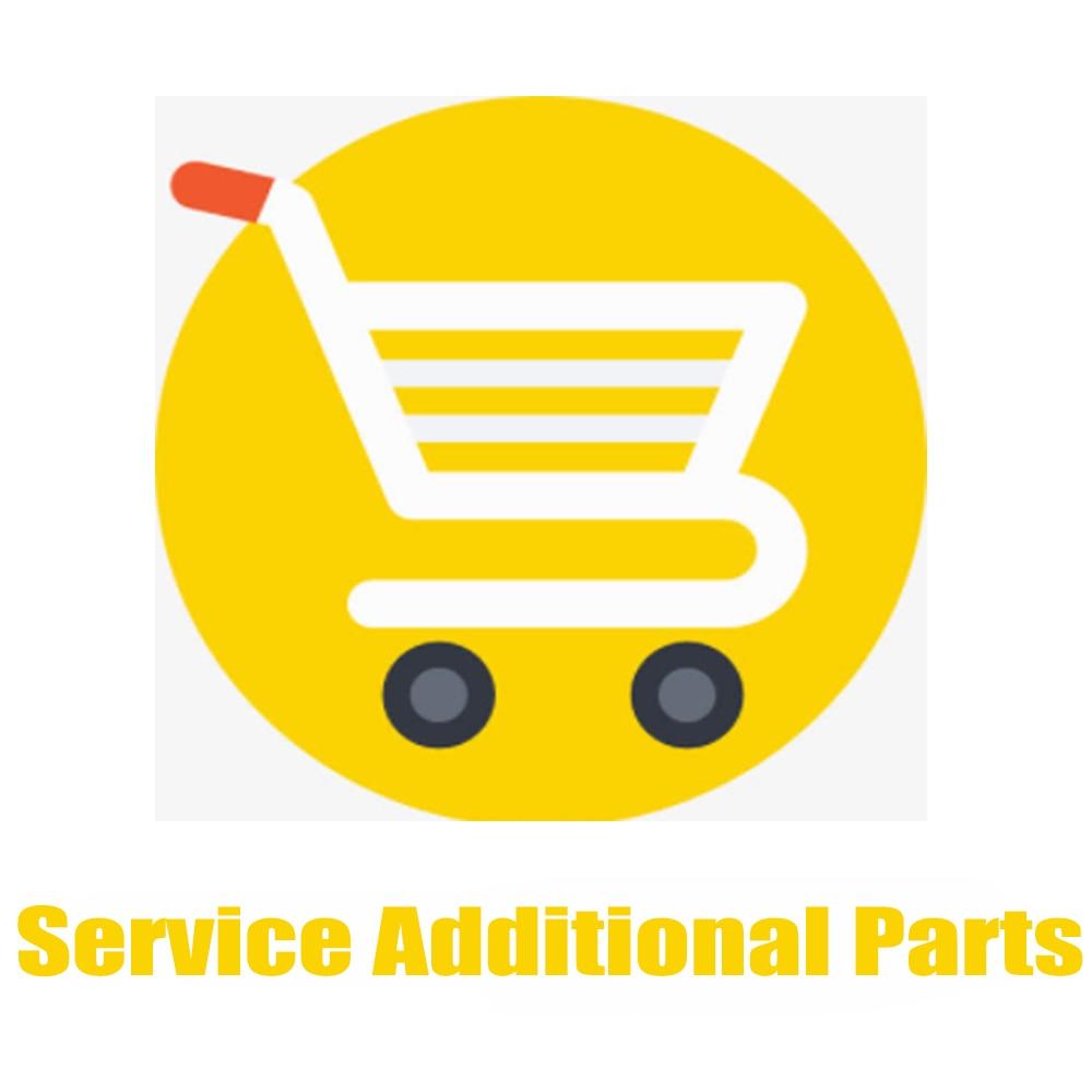 خدمة قطع الغيار الإضافية/خدمة ما بعد البيع رسوم نقل إضافية