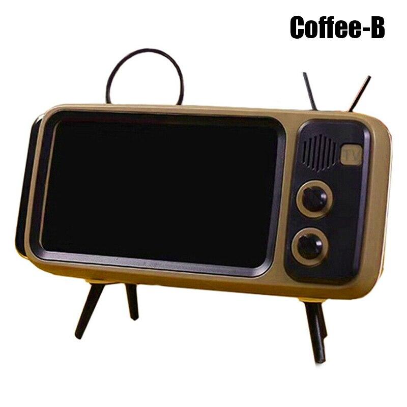 Mini altavoz Retro TV teléfono móvil pantalla soporte inalámbrico portátil Audio altavoces @ M23