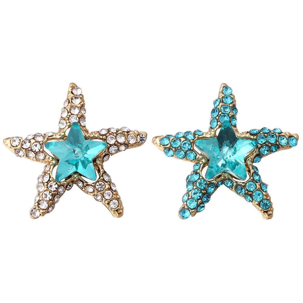 10pcs/lot New Gold 12mm Snap Jewelry Big Blue Dream Star Snap Button Bracelet Bangles Fit 12mm Snap Bracelet for Women Men Love