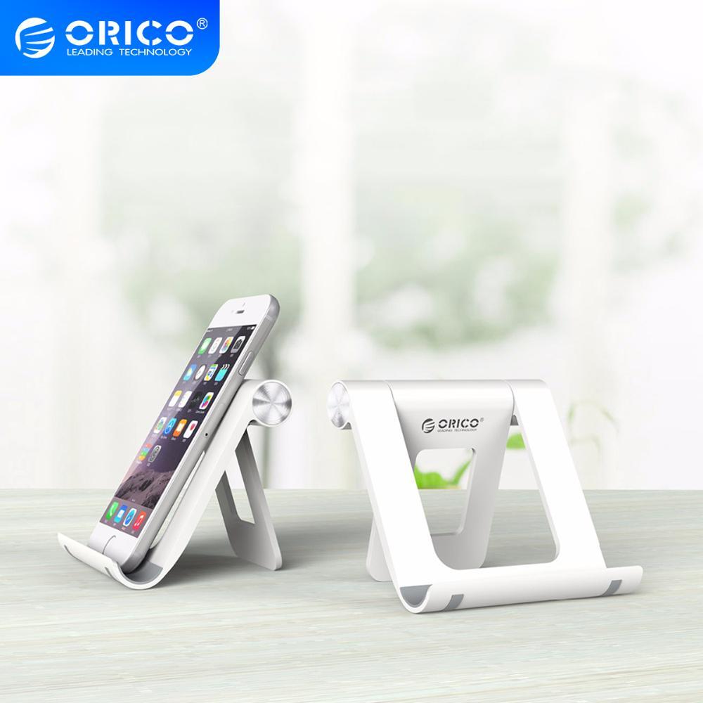 Orico uchwyt na telefon uniwersalny pulpit stojak na telefon komórkowy uchwyt na biurko regulowany dla iPhone Xiaomi na Tablet Samsung iPad
