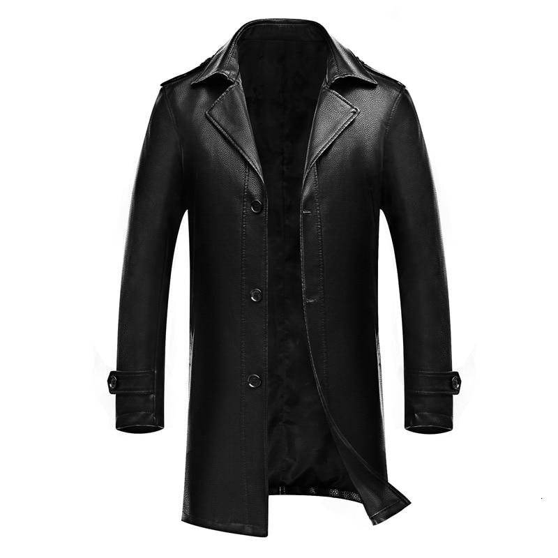Talla grande 8xl 7xl 6xl 5XL 4XL nuevo otoño invierno abrigo real cartera para hombre, talla grande
