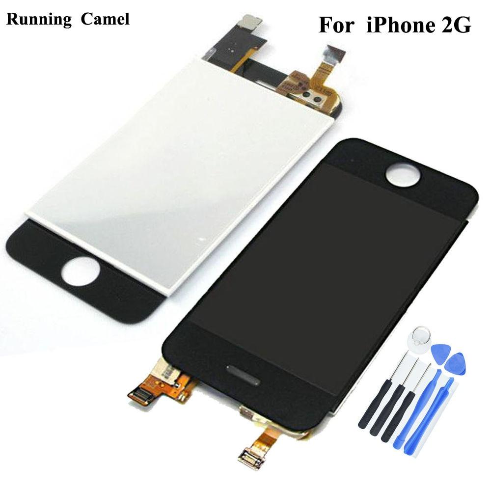 شاشة لمس LCD لجهاز iPhone ، الجيل الأول ، 2G