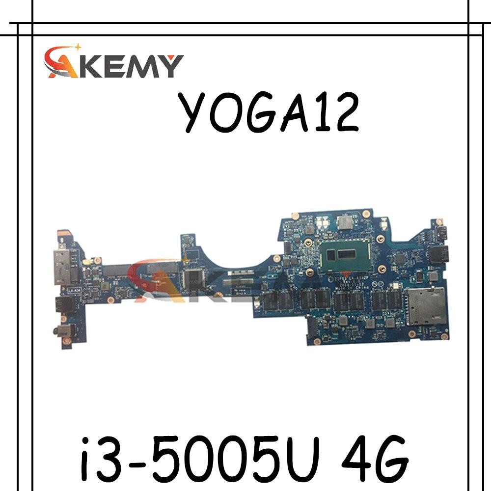 Thinkpad مناسبة ل S1 YOGA12.i3-5005u 4g دفتر اللوحة. FRU 00PA825 00HT789 00PA826 00HT790