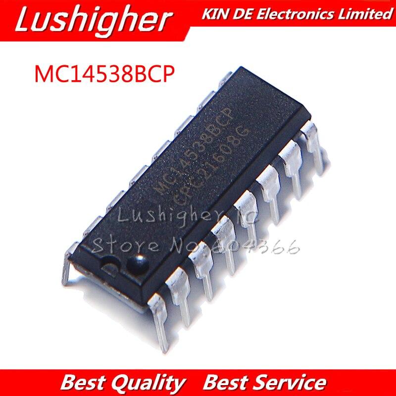 10pcs MC14538BCP DIP 14538BCP MC14538 DIP16