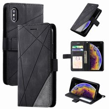 Stand Business Phone Holster For Apple iPhone SE 2020 X XS XR 13 12 Mini 11 Pro Max Hit Color Stripe