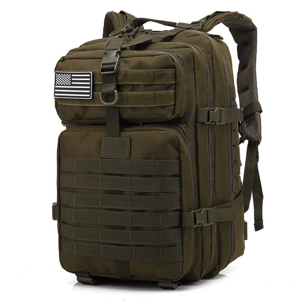 حقائب ظهر ، عسكرية تكتيكية سعة كبيرة، 3P EDC ، حجم 50L, شنطة للاستخدام في الهواء الطلق،خامة طرية ، للرحلات والتخييم والصيد