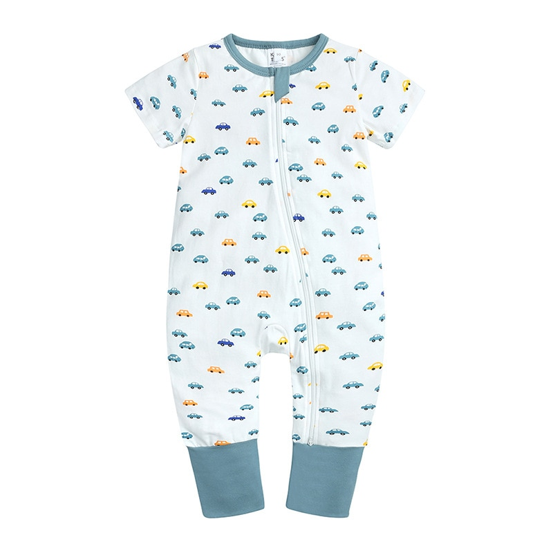 Children's Wear New Baby Romper Suit Baby Clothes Baby Climb Clothes Short-Sleeved Climb Clothes In