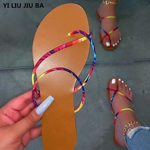 2020 frauen schuhe frau Weibliche Gladiator peep toe wohnungen party hochzeit casual sandalen frauen flip-flops frauen schuhe zapatos mujer