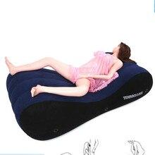 Portable profiter Sexy oreiller canapé chaise adulte Sexy gonflable adultes Sexy canapés amour soutien Positions Pad chambre hôtel meubles