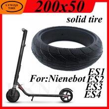 200x50 pneu plein pour Xiaomi Ninebot Segway ES1 ES2 ES4 Scooter électrique solide pneu roue 8 pouces anti-déflagrant Tubeless pneus