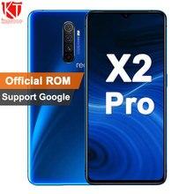 """Original realme X2 Pro 6,5 """"Snapdragon 855 Plus NFC Handy 64MP Quad Kamera 50W Super VOOC Schnelle ladung"""