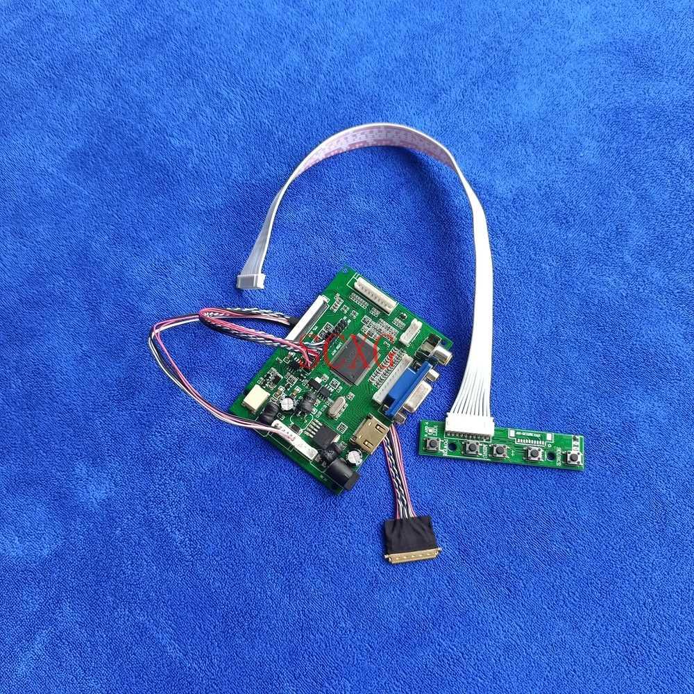 60Hz WLED Fit B101XTN01.0 B101XTN01.1 VGA AV HDMI-متوافق مع لوحة شاشات كريستال بلورية وحدة تحكم محرك عدة 1366*768 LVDS 40 Pin