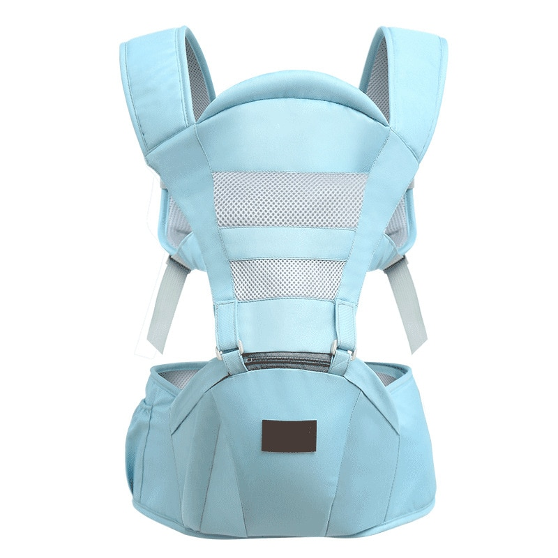 Portadoras mochilas 3-36 meses Portable Baby Sling Wrap algodón bebé recién nacido cinturón de transporte para mamá papá