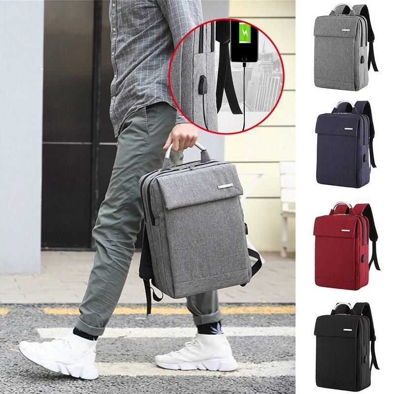 Homens anti roubo computador portátil mochila 2019 negócios grande capacidade mochila computador saco de viagem bagpack estudante lidar com saco