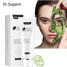 Dr.Sugarm Green Tea Peeling Mask Facial Skin Care Products To Remove Blackheads Deep Cleansing Pores