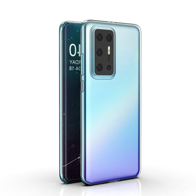 For Huawei P40 Pro P30 P20 Plus Mate 30 20 X Lite nova 6 SE 5 4 3 Pro 5G Slim Crystal Clear Soft TPU