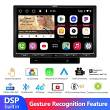 Dual Bluetooth Android 10.0 Car Radio Touch Screen 2 Din Android 2.4G/5G Wifi Multimedia Video Playe