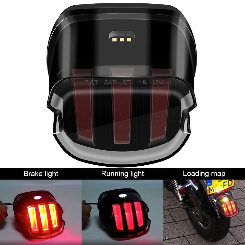 Светодиодный стоп-фонарь для мотоцикла, для Harley Touring Electra Glide Road Glide Softail Sportster XL883 XL48 Dyna FLD Fat Boy