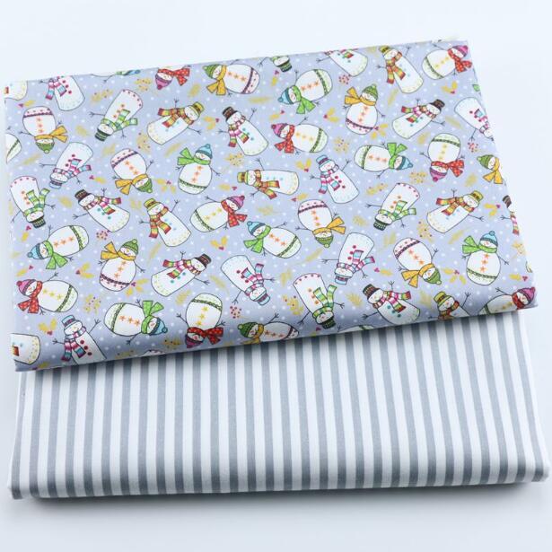 Tela de algodón bricolaje para fabricación de ropa para niños, cortina, mesa,...