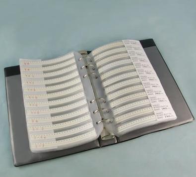 1206 SMD condensador muestra libro 80valuesX25 Uds = 2000 Uds 0.5PF ~ 1UF juego de selección de condensador paquete