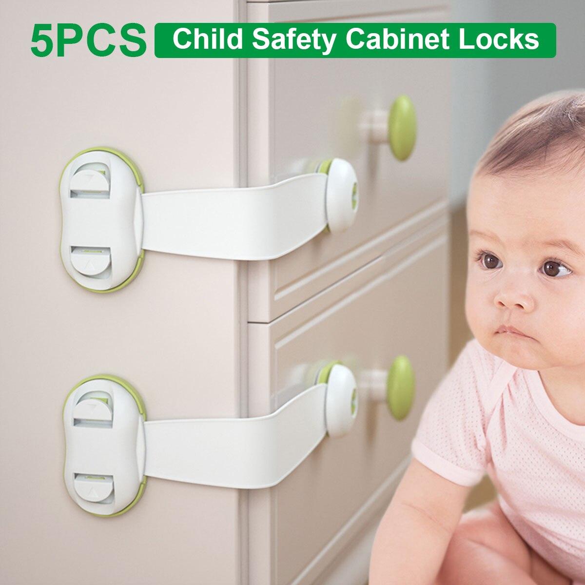 5 шт., блокираторы шкафов для безопасности детей