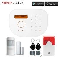 SMARSECUR     systeme dalarme anti-cambriolage GSM RFID  systeme de securite domestique S2G