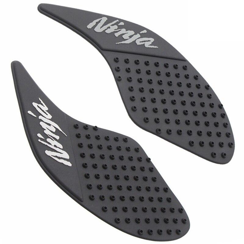 For Kawasaki 250 Z 250 300 Z250 Z300 Ninja Ninja300 Motorcycle Tank Pad Side Gas Knee Grip Stickers Black