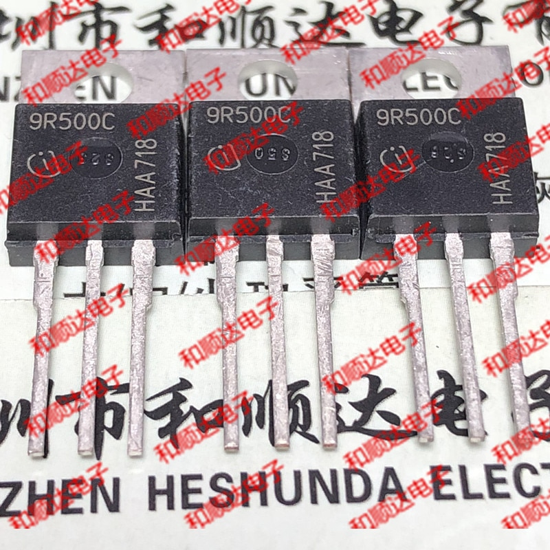 10 unids/lote 9R500C IPP90R500C nuevo stock-220 900V 11A cantidad