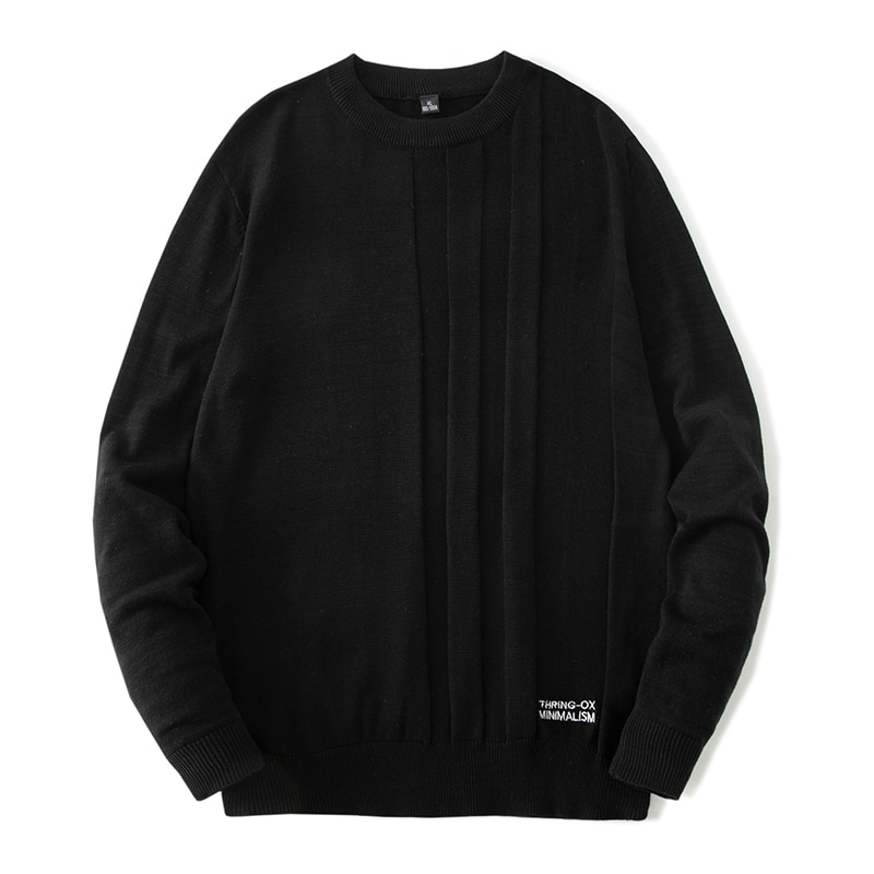 Мужской пуловер, Мужская одежда, мужские свитера, Мужская одежда, свитер для мужчин, свитер, Мужская одежда, черная Повседневная Удобная оде...