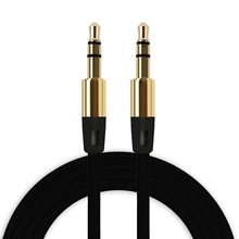 3.5mm AUX Cable 1m Audio Cable Car Headphone Speaker Cable