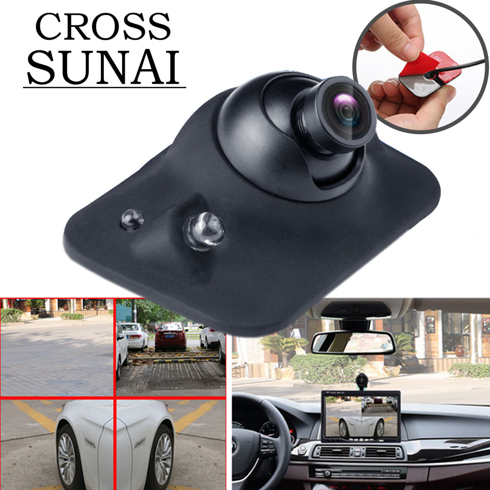 IP68 Newest Car Rear View Camera With LED Light DVR Auto Reverse Packing Vackup Night Vision Car Mon