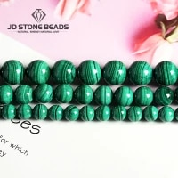 natural malachite beads dark green color 4 6 8 10mm pick size semi precious stones accessories for jewelry making