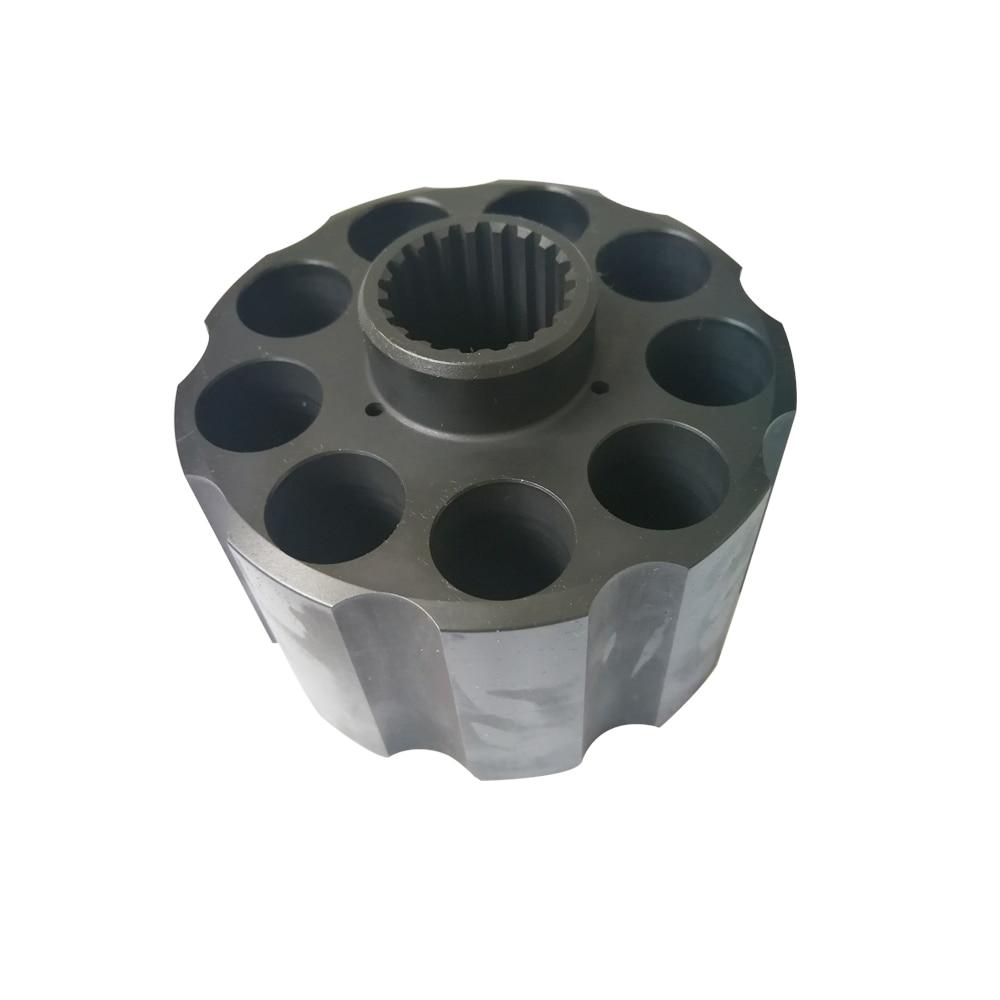 أجزاء المضخة GM18 ، كتلة الأسطوانة ، الأجزاء الهيدروليكية لإصلاح محرك nabtillo