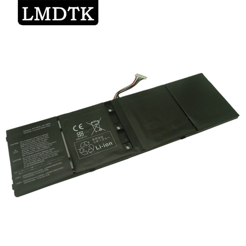 LMDTK nueva batería del ordenador portátil para Acer Aspire M5-583P V5-552PG V7-481 V5-572P V5-573 AP13B3K AP13B8K R7-571 V7-581PG V5-552G V7-582PG