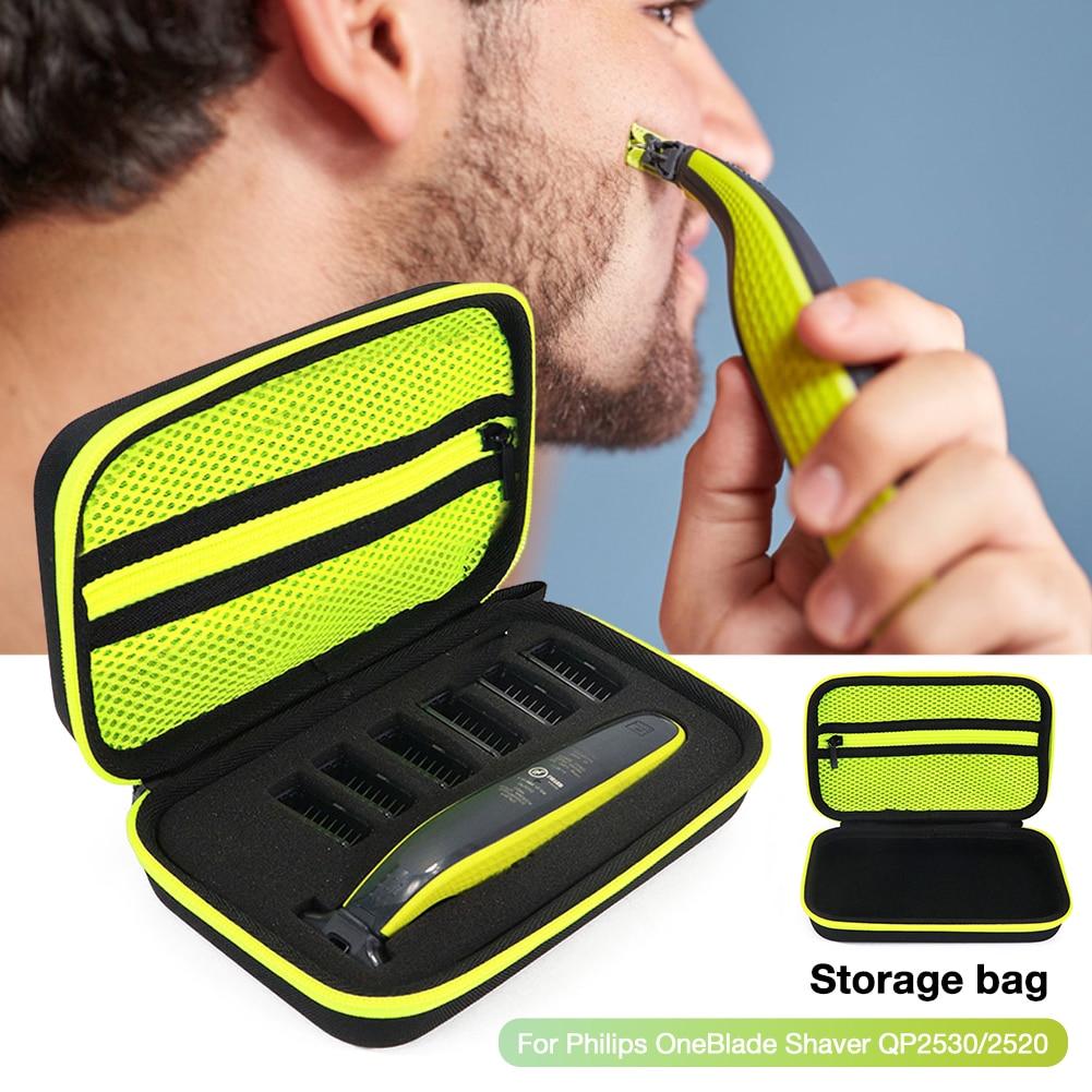 Shaver Razor Holder Storage Bag For OneBlade Men Electric Shaver Carrying Case Shockproof Hard Trave