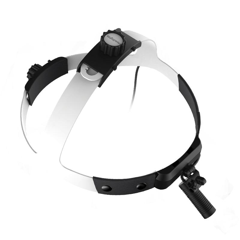 Rechargeable High Intensity Headlight Dentistry Operation Helmet Lamp LED Headlamp(JY-M08-F) enlarge