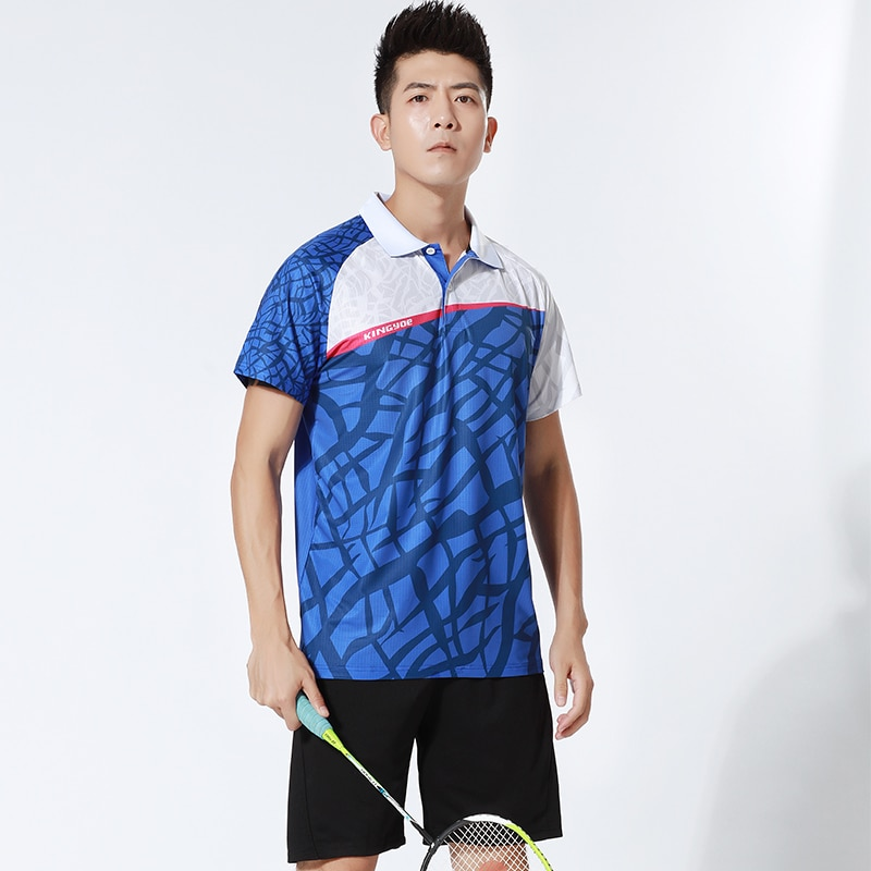 HOWE AO Women/Men Personalized Badminton Wear Table Tennis top Training Suit Tennis Shirts Sports clothes  - buy with discount