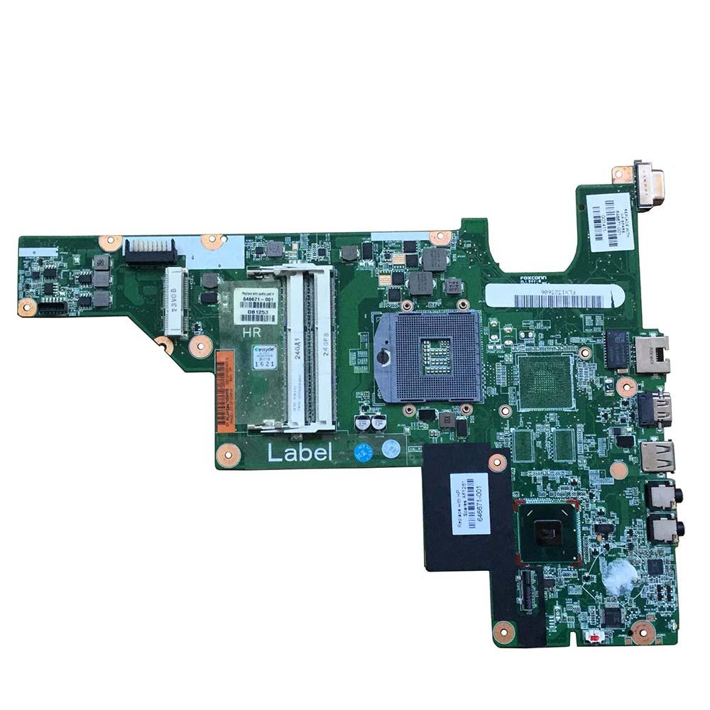 الأصلي 646671-001 كمبيوتر محمول لوحة رئيسية لأجهزة HP CQ430 430 630 اللوحة DDR3 HM65 اختبار بالكامل جيدا