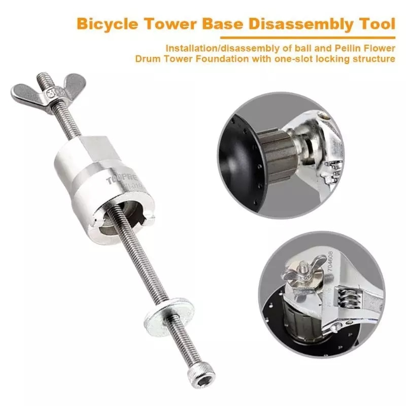 Bicycle Hub Disassembly Removal Tool Mountain Road Bike Hub Cassette Install Bicycle Disassembly Tool Cycling Multi Repair Tool bicycle hub disassembly tool bike removal repair tool free hub stainless steel repair tool
