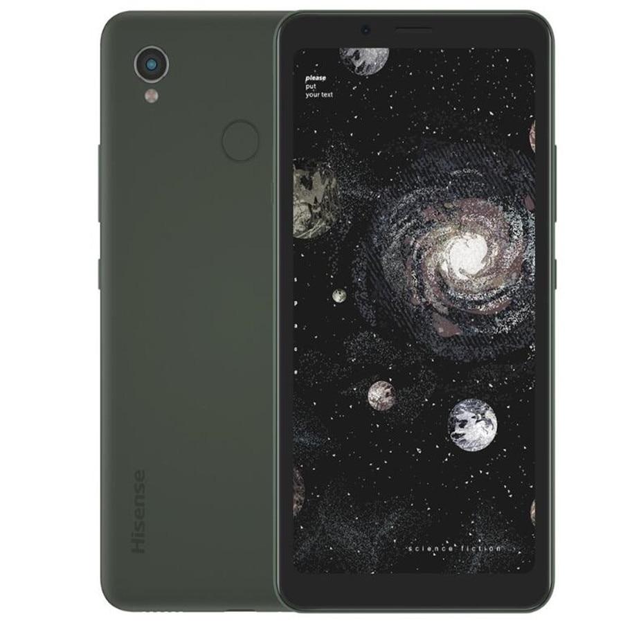 Оригинальный телефон Hisense A5 Pro CC, 5,84 дюйма, цветной экран, распознавание лица, сканер отпечатков пальцев, две SIM-карты, Android 10,0, телефон для чтен...